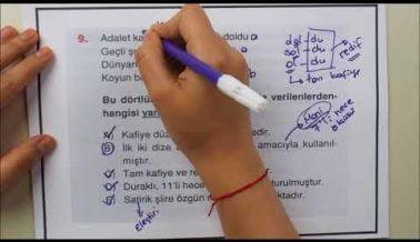 2A AYT Türk Dili ve Edebiyatı Soruları