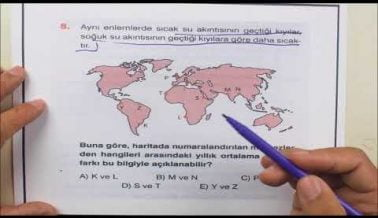 2A YKS (TYT) Coğrafya Konu Anlatımlı Deneme Soruları
