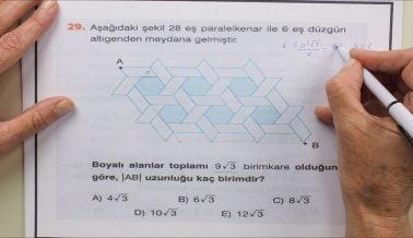 AYT 2 Geometri Soru Çözümleri