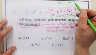 AYT 2 Matematik Soru Çözümleri