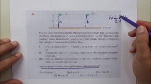 AYT - TYT Fizik Deneme Soru Çözümleri