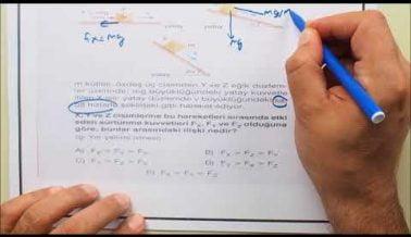 AYT Fizik Sınav Öncesi Çözülmesi Gereken Sorular
