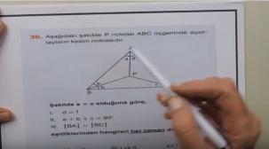 Endemik Yayınları TYT Geometri Soru Çözümleri