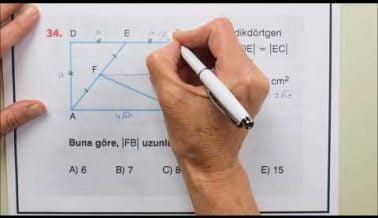 Güncel AYT Geometri Deneme