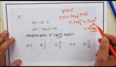 Güncel Matematik AYT Deneme