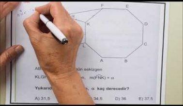 Güncel YKS Geometri Soruları