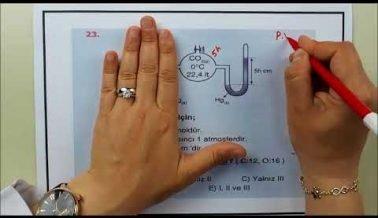 Kimya AYT Deneme (Güncel Sorular)