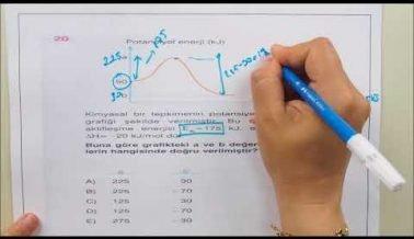 Kimya AYT Soru Çözümleri İle Sınava Hazırlık