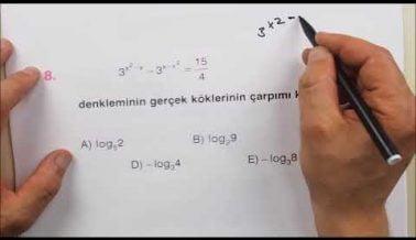 Matematik AYT Güncel Soru Çözümleri