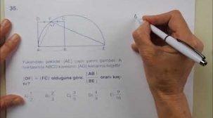 Soru Çözümleriyle AYT Geometri Çalışmaları
