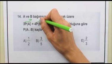 Tekrar Amaçlı AYT Matematik Soru Çözümleri