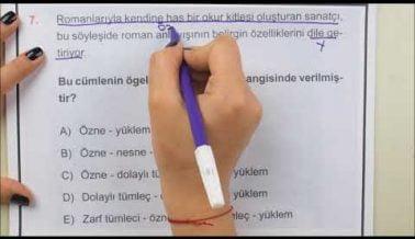 Türk Dili ve Edebiyatı TYT Deneme