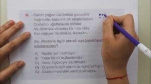 TYT (AYT) Edebiyat Sınavda Çıkabilecek Sorular