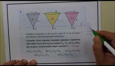 TYT Fizik Soru Çözümleri