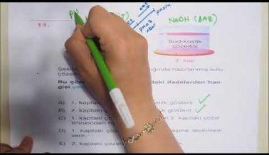 TYT Kimya Sınava Hazırlık