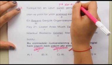 TYT Türkçe Sınavına Hazırlık
