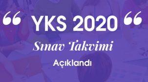 YKS 2020 Sınav Takvimi Açıklandı