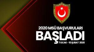 2020 / Milli Savunma Üniversitesi (MSÜ) başvuruları başladı