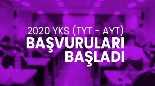 2020 YKS (TYT-AYT) Başvuruları Başladı!